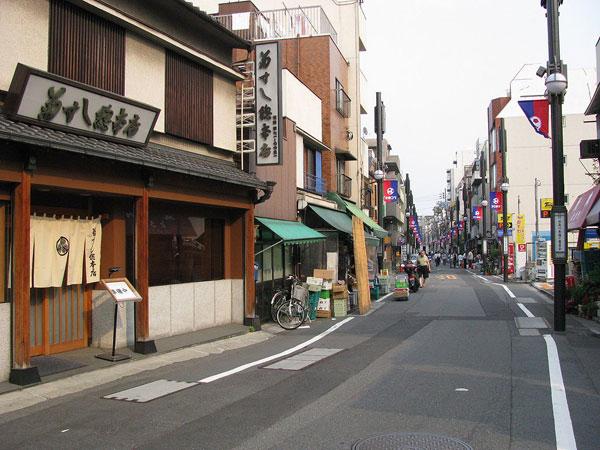 下町を味わえる東海道品川宿でゆっくりお散歩
